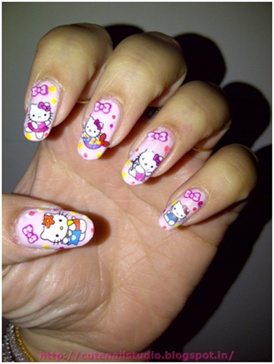 water slide nail stickers or water decals 2