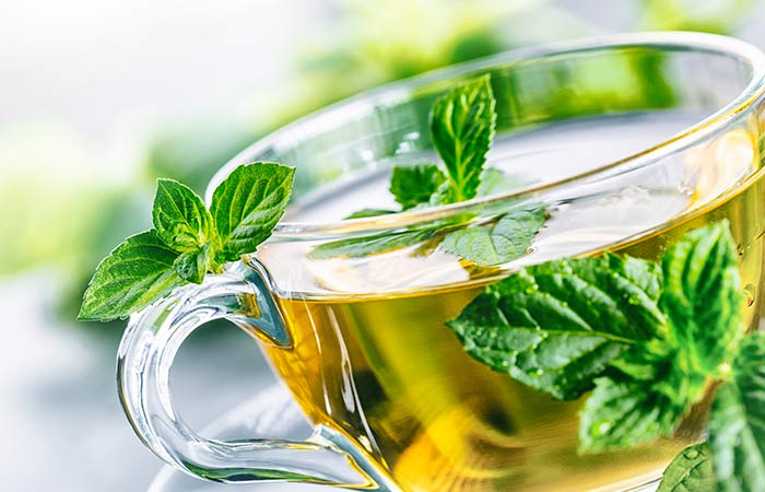 3. Mint And Green Tea Face Pack For NormalCombination Skin