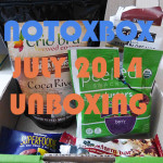 Notoxbox July 2014 – Unboxing & First Impressions!
